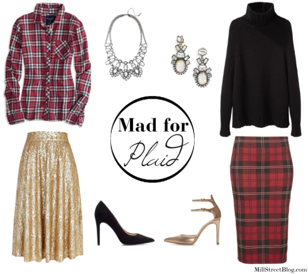 Mad for Plaid | Holiday Party Edition